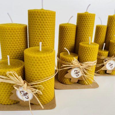 Sviečky z včelieho vosku