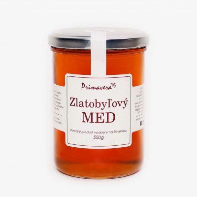Zlatobyľový med